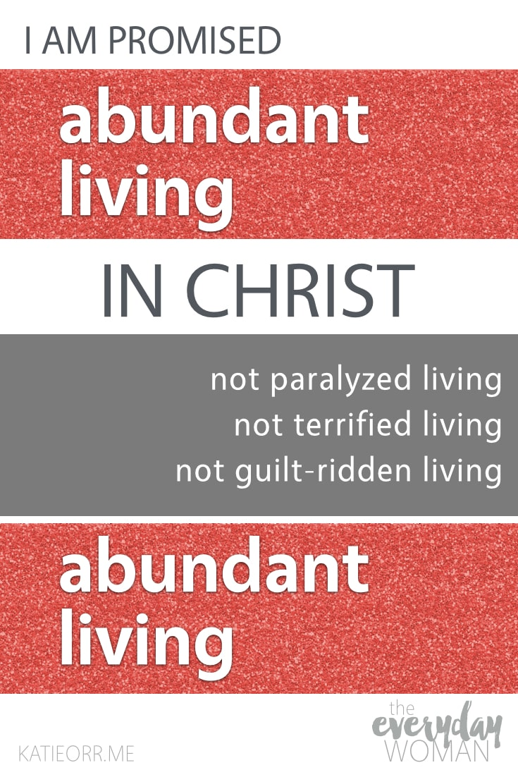abundant living in christ