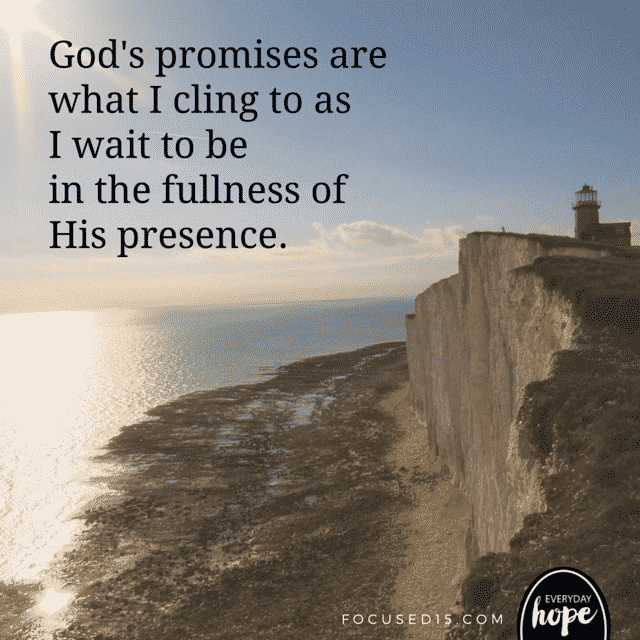 cling to God's promises