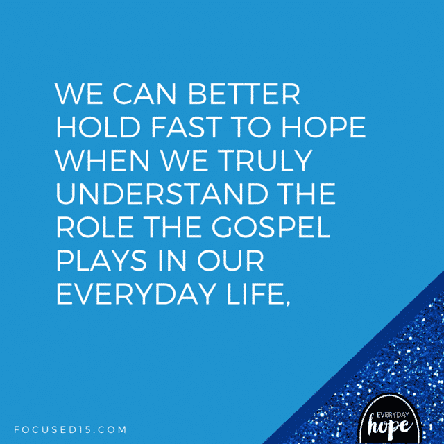 The role the Gospel plays in our everyday life