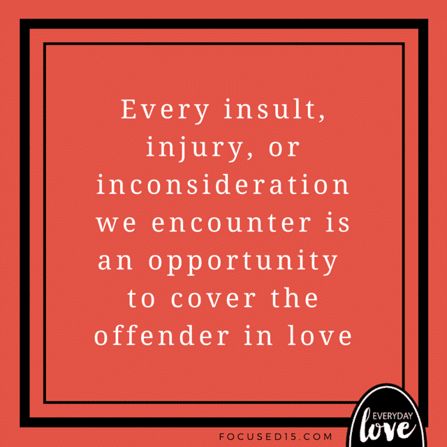 Cover the Offender in Love