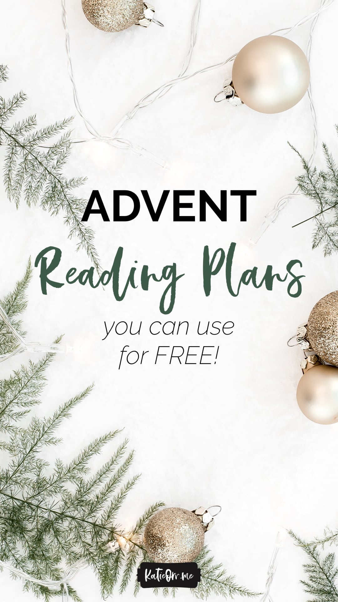 advent reading plans free